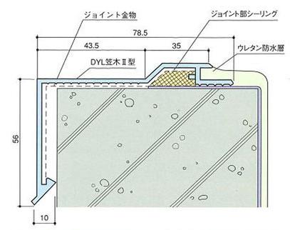 DYL笠木Ⅱ型